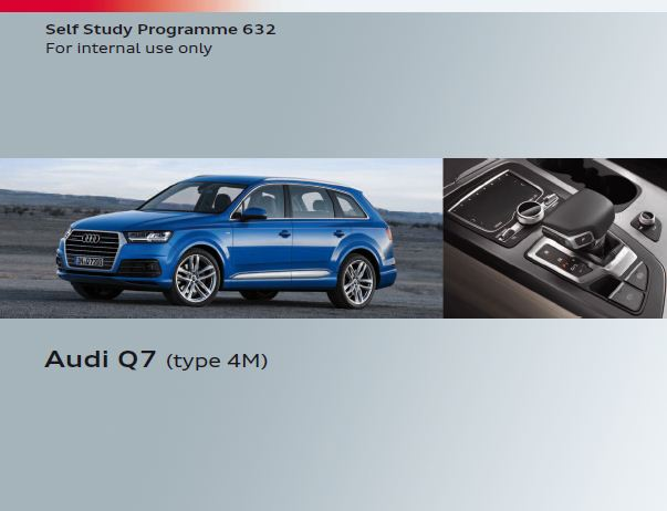self study program 632 audi q7 type 4m pdf free online rh procarmanuals com 2017 Audi Q7 Audi Q7 Racks